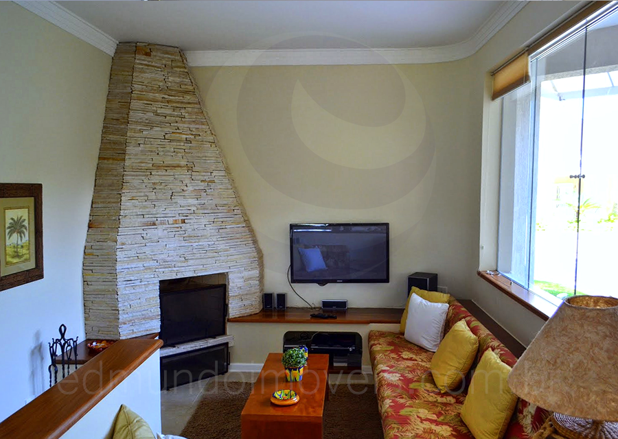 Casa 617 – Sala de Lareira
