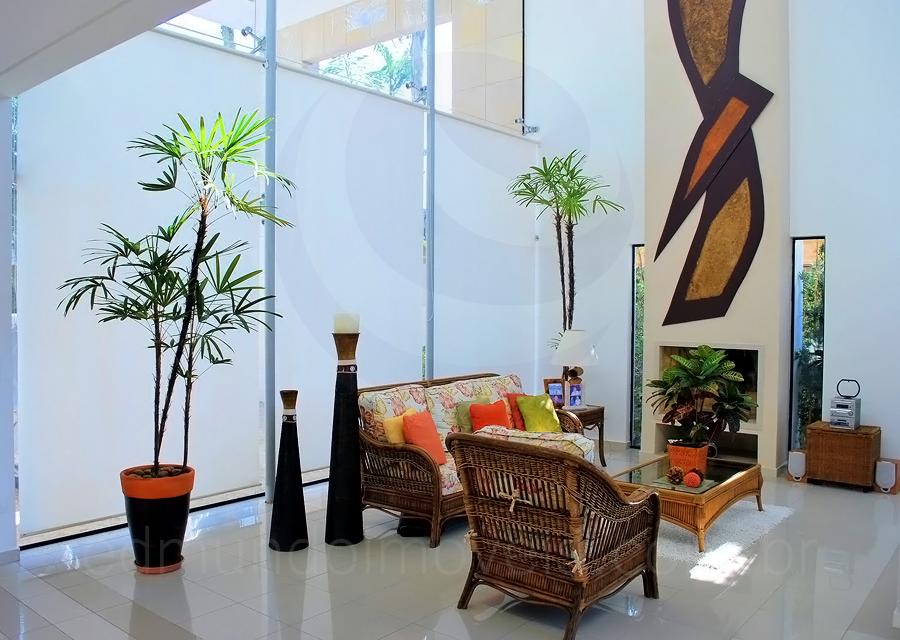 Casa 612 – Sala de Lareira