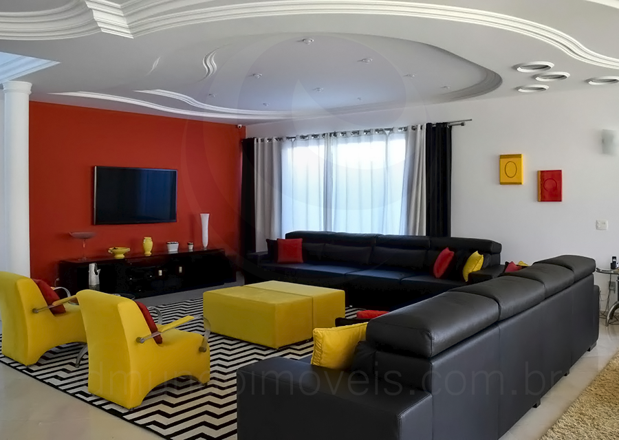 Casa 488 – Living com TV
